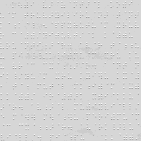 A sample of Tamil Braille text